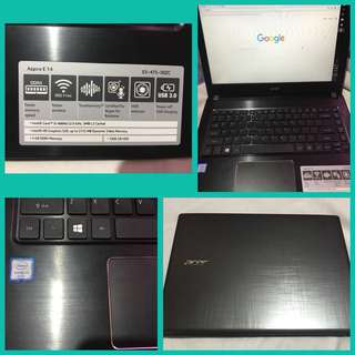 Acer Corei3💻Good as new👊🏻 Free mouse,mouse pad,fan w/ speaker.