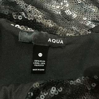 Aqua Sequinned dress