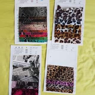 Cloth samples bundle sale