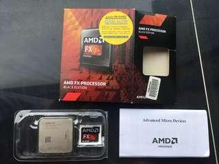 AMD FX unlocked black edition Processor