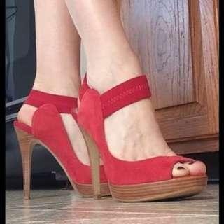 Bakers red heels