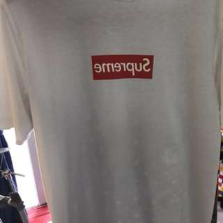 SUPREME BOX LOGO CDG