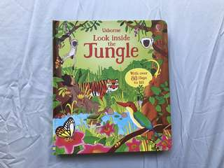 #In Stock# Usborne Look inside the Jungle
