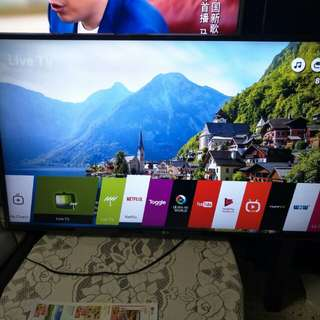 LG 49 Inch 4K Utra HD Smart Led Tv