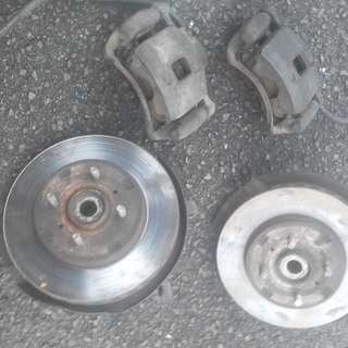 Disc brake Satria Wira 1.6 pcd 100
