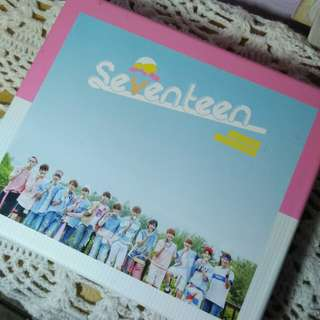 Seventeen love & letter repackaged album