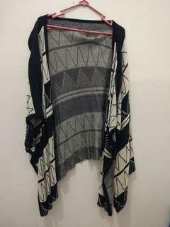 Knit outwear