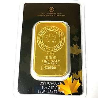 Pure Gold Bar