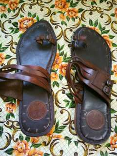 All Leather Imported Ladies Sandals