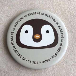 Etude House Round Penguin Mirror