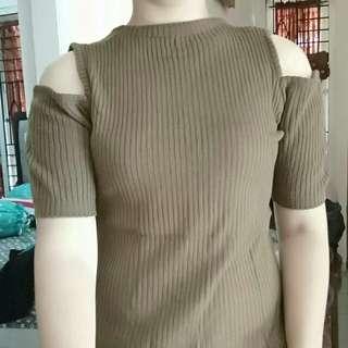 Cutout knit