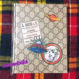 日本雜誌附送Gucci記事本