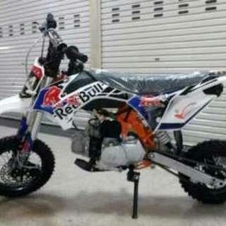 Motor mini trail 4tak 110cc Redbull