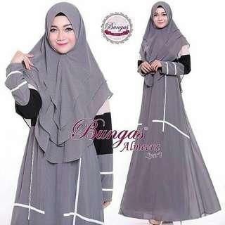 Almeera Syari Set Grey