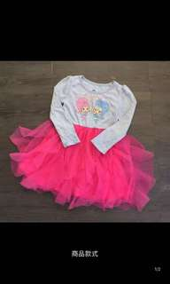 PO shimmer and shine Long sleeve dress brand new size 2T -6T