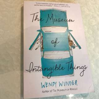 YA novel: Wendy Wunder - The Museum of Intangible Things