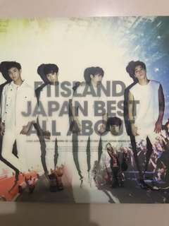 Ftisland Japan best about all