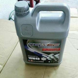 ENGINE OIL REVTEC SEMI-SYNTHETIC
