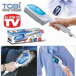 high quality tobi travel cloth steamer iron
