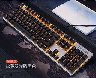 10% off 打字超快青軸鍵盤 Stunning game keyboard with backlight