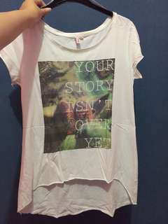 Baju Kaos Putih Penshoppe