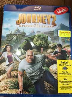 Journey 2, the mysterious island, blu ray