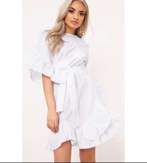 White Dress Brand Pretty Little Thing