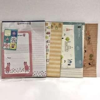 Letter and envelopes pack
