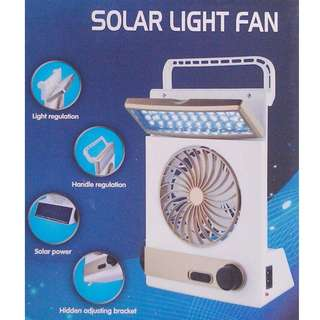 3 in 1 high quality solar light fan