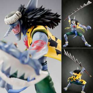 ONE PIECE: Excellent Model Portrait.of.Pirates - Arlong Complete Figure - MegaHouse - 100% Authentic & Original (BNIB)