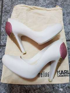 Melissa Karl Lagerfeld High Heel Shoes
