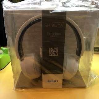 NEW Phillips Shibuya Series Surround Sound Headphones (Extra Bass)