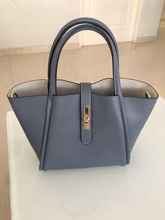Pazzion Bluish Grey Handbag