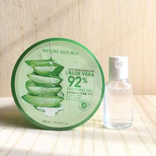 NATURE REPUBLIC aloe vera gel (30ml)
