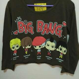 Baju Bigbang Croptee