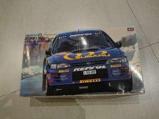 Subaru Impreza WRX 模型