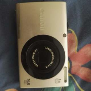 Canon PowerShot touch screen