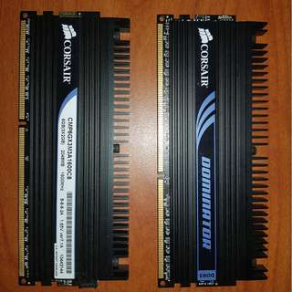 CORSAIR DOMINATOR DDR3 1600MHz 2GB x 2