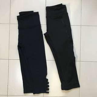 Cotton On & BODY Black Sport Tights