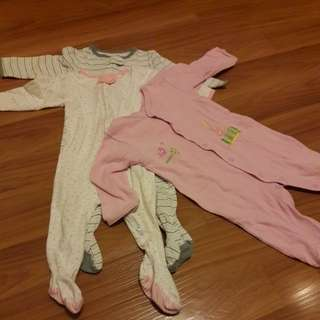 Sleepsuits set of 3