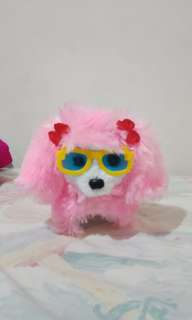Mainan anak bentuk anjing