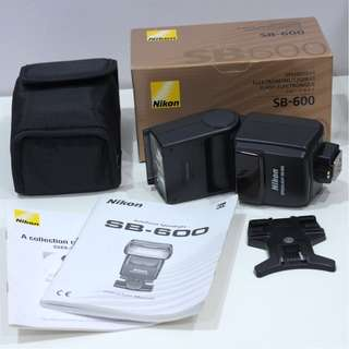 Nikon SB600 flash speedlite