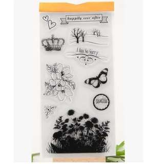 Scrapbook Rubber Stamp