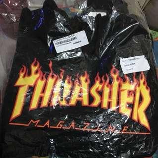 全新 Thrasher 火hoodie 衛衣