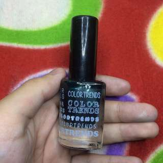 Color Trends Nail Polish (Dark Green)