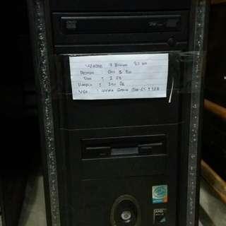 CPU core 2 duo ram 2GB murah