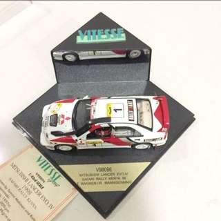Mitsubishi Lancer EVO. IV - 1998 Safari Rally Kenya (Limited Edition Production of 3500 Pieces Only) Model No: 2425
