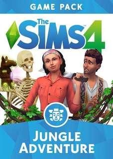 The Sims 4 Jungle Adventure (Full Base Game + Expansion Lengkap) 7DVD