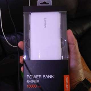 Brand new Lenovo powerbank 10000mah