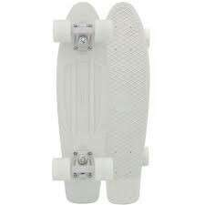 Plain white penny board (RUSHHHH)